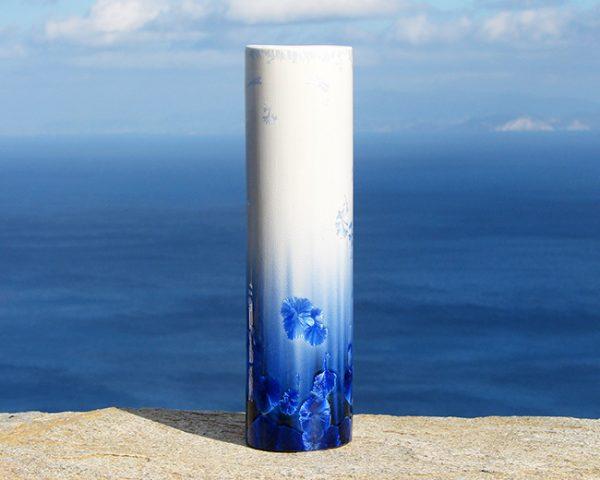 crystalline-cylinder-vase-white-and-blue_sifnos-stoneware