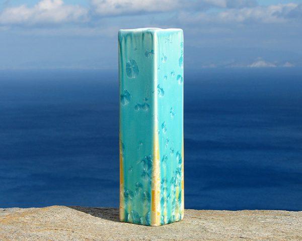 crystalline-square-vase-turquoise-tan2_sifnos-stoneware
