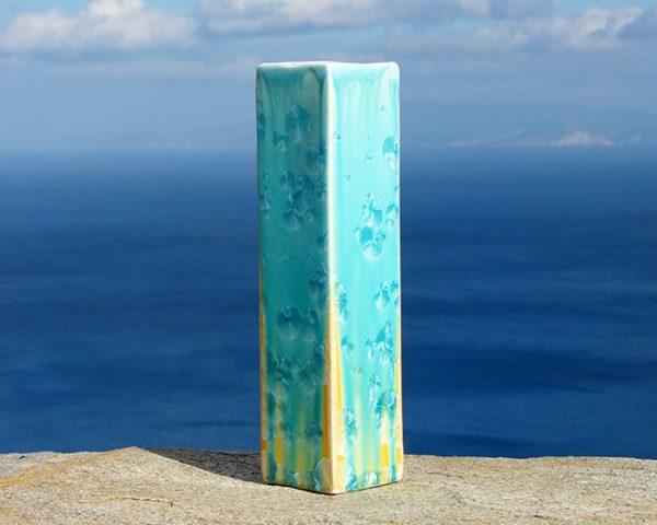 crystalline-square-vase-turquoise-tan4_sifnos-stoneware