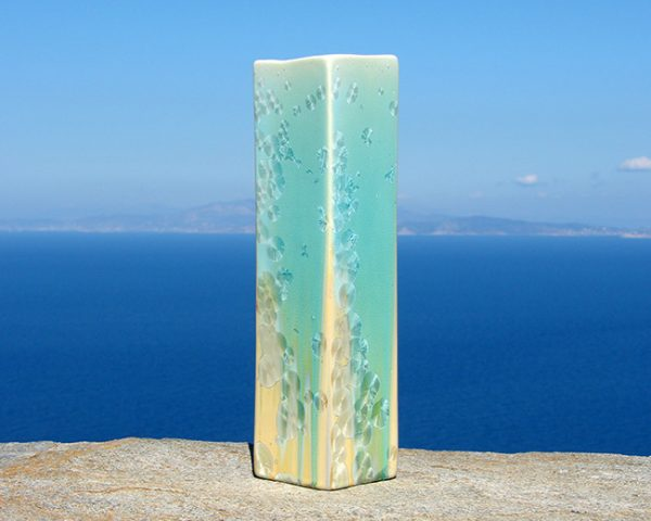 crystalline-square-vase-turquoise-tan_2020-1_sifnos-stoneware