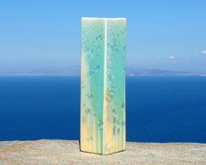crystalline-square-vase-turquoise-tan_2020-2_sifnos-stoneware